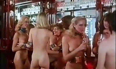 Nude DISCO - vintage 70s blonde big mounds dance tease