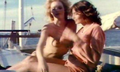 Retro groupsex on a yacht