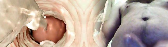 Foxy and huge-boobed 3D cartoon honey getting fucked hard