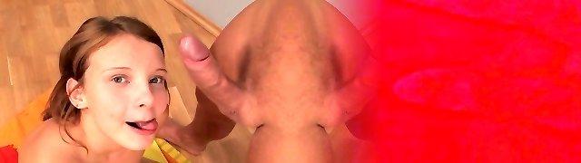 Katrin (AKA Autumn), anal creampie and facial cumshot