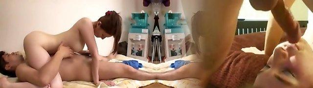 Horny Japanese gal Yui Tatsumi in Fabulous Good-sized Tits, Couple JAV movie