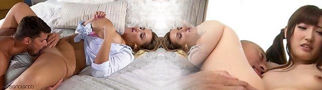 Crystal Fast & Kristof Cale in Internal Cumshot For Big Natural Tits Stunner - Danejones