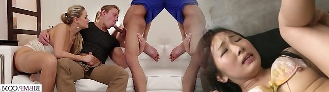 Nice new dick for horny bisexous couple