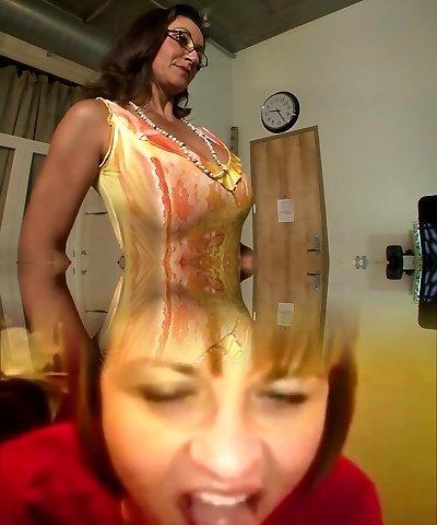 Greatest pornstars Persia Monir and Bonnie Skye in best brunette, masturbation xxx scene