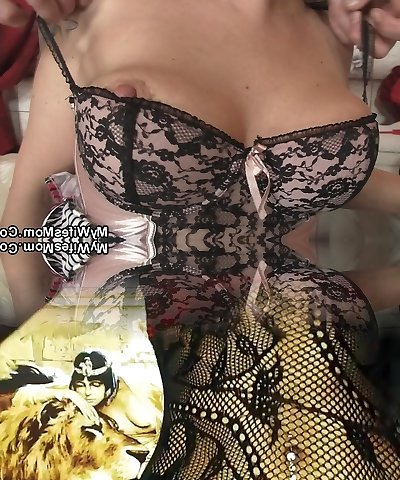 Girlfriends red-hot mother inlaw takes it from behind