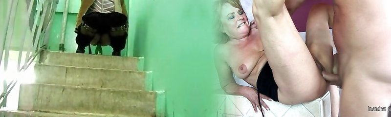 Extreme legal age nubile mommy uses a icetea glass as a marital-device