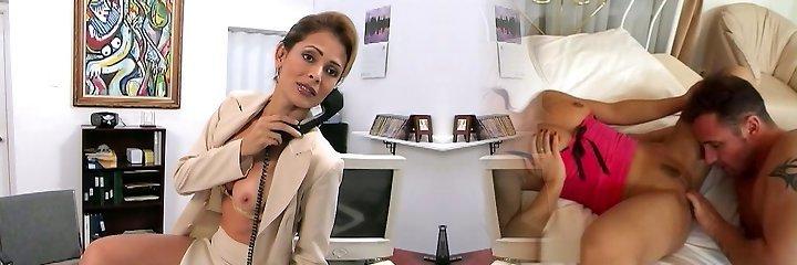 Mature latina nymphomaniac Monique Fuentes is a highly bad teacher