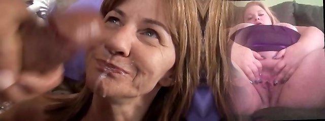 Shy mature inexperienced enjoys a sticky facial cumshot