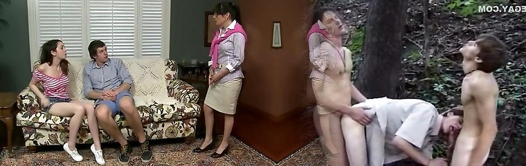 Her step mom walked in and caught them