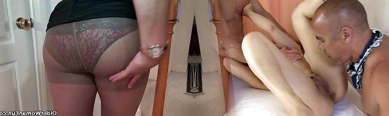 Huge-titted milf Mia Jones strips off and fucks a dildo