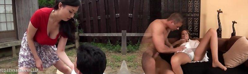 Emiko Ejima kinky mature Asian babe is dominating chick