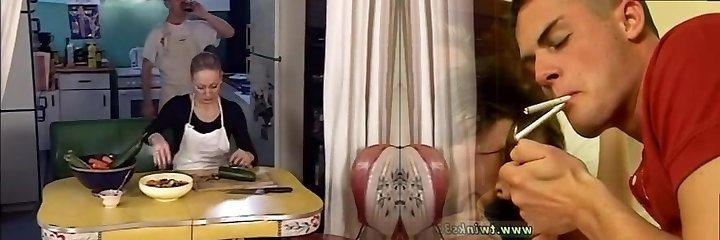 junior stud banging 2 old ladies in the ass