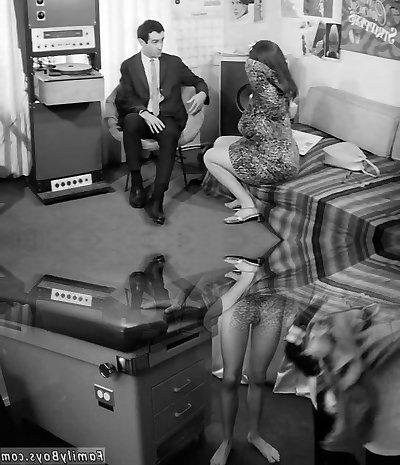 Office Clerk Attempts to Find Love (1960s Vintage)