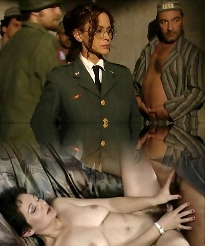 Naughty prisoners banging their wardress