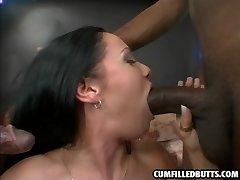 horny slut gets her tight butt fucked