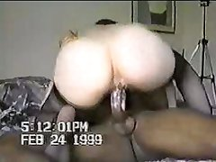Jumping Black Cock Hard Deep in White Cunt