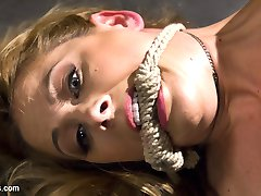 The sinisterly sexy Cherry Torn uses the hot and horny Cherie Deville as her personal electro...