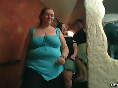 Everything you can possibly imagine goes down during this wild BBW orgy filled with sluts
