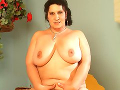 Horny BBW Belane takes her break from reading books by sucking and fucking her guy
