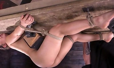 Kinky housewife gets her ass fucked and fisted by her hubby
