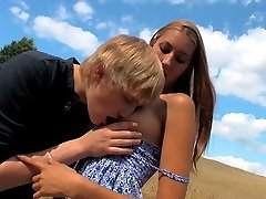This farm field is the location for these horny teens. As soon as they realized they were all...