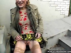 Crazy Sara loves public sex
