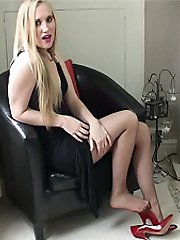 You know how you keep telling yourself that you must do something to control your shoe fetish. And then you see a lovely young girl like Toni who wears very sexual and very erotic high heel shoes, and your fetish craving starts all over again