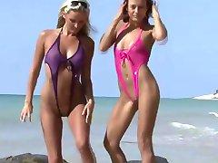 Sexy girls in bikinis
