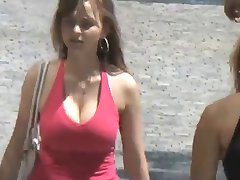 Bouncing Boobs in Public The Ultimate Compilation (Non-Nude)