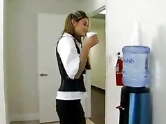office sex in the bathroom