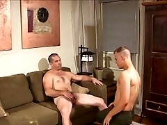 Daddy and boy have sex
