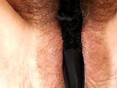 Sexy Silvie has her hairy pussy fucked
