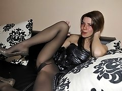 Private pics of wives in pantyhose after party