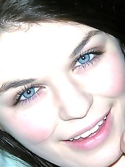Freckled Brunette Babe Modeling Nude - Anastasia Rose
