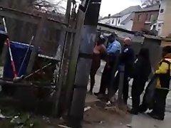 Female Crackhead in Da Hood