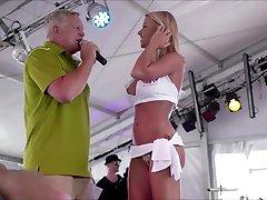 Sexy Blonde Bikini Winner