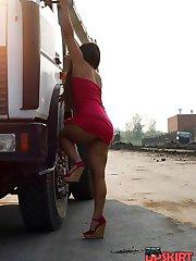 Upskirt cam free shots of hot gals