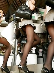 Exciting photos of hot upskirt girls