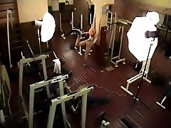 Naked gym shooting filmed on hidden cam