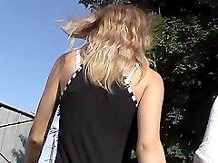 Whistlebait blondes upskirt