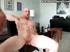 Two Muscle Man Gets Ass Fucked