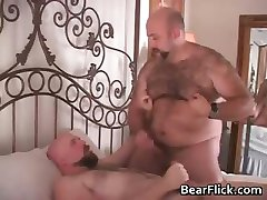 Hair gay bears Don James and Justin Wood part3
