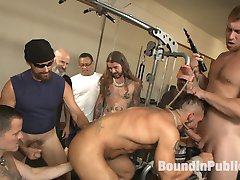 Gym whore, Aarin Asker is still paying off his debt, this time hes found himself bound to the...
