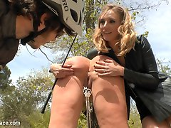 Mona Wales is back on Public Disgrace to make sure Busty Model Klara Gold gets everything that...