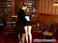 Felony has her way with two lovely brunettes pushing them to their limits and using them as...