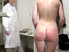Medical Examination followed by a harsh bottom beating