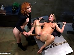In this roleplay update sexy redhead Elle Alexander plays a rookie cop who busts known sexy MILF...