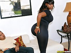 Smoking hot big booty teen fucked in her hot box in these black long leg fucking pics