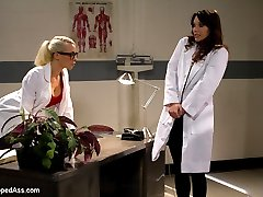 Welcome Alysa to WhippedAss.com! Alysa is an all natural beauty from Russia with an extraordinary ass! In this lezdom fantasy roleplay Alysa plays a medical research assistant who's eccentric boss is trying to concoct a serum which can change sexual preference. Little does Alysa know Dr. Lee is using this to take advantage of her beautiful assistant and do unspeakable things to her amazing butthole! Lesbian domination and extreme anal sex ensues! Alysa's extremely talented anal abilities are not to be missed!