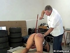 Tardiness isnt accepted here at Elite Spanking. If our spanking Master has to wait for a girl,...